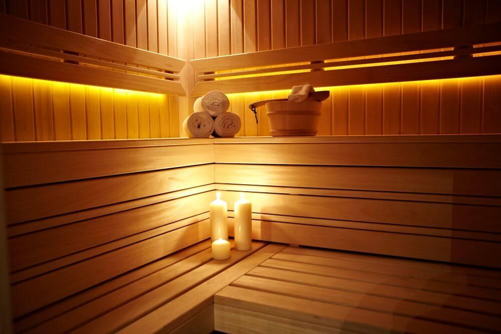 sauna hotel Suwałki Akvilon