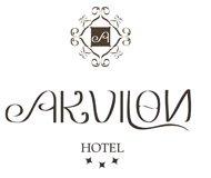 logo hotelu Akvilon w Suwa�kach